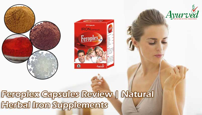 Feroplex Capsules Review, Herbal Iron Supplements