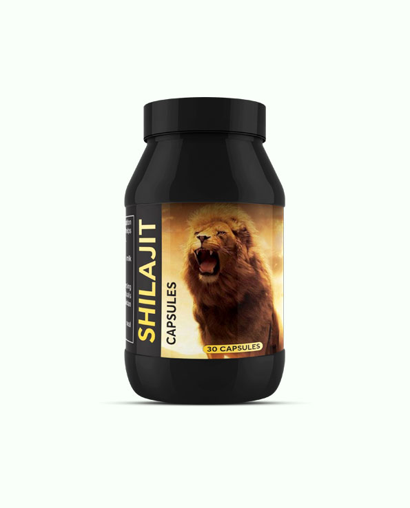Shilajit Capsules To Increase Energy Stamina And Strength