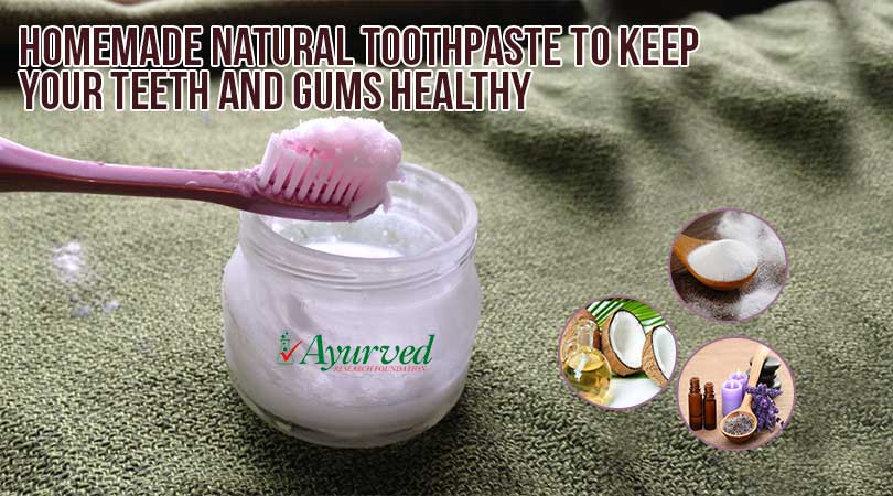 Homemade Natural Toothpaste Recipe