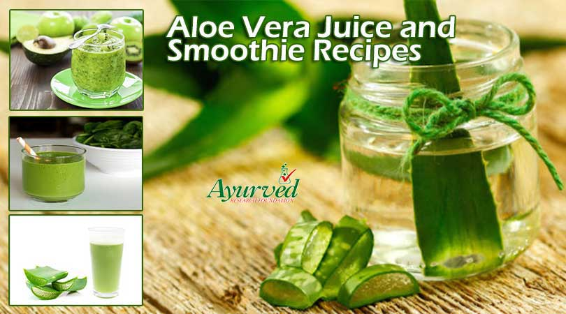 Aloe Vera Juice and Smoothie Recipes