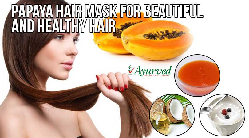 Homemade Papaya Hair Mask Recipe